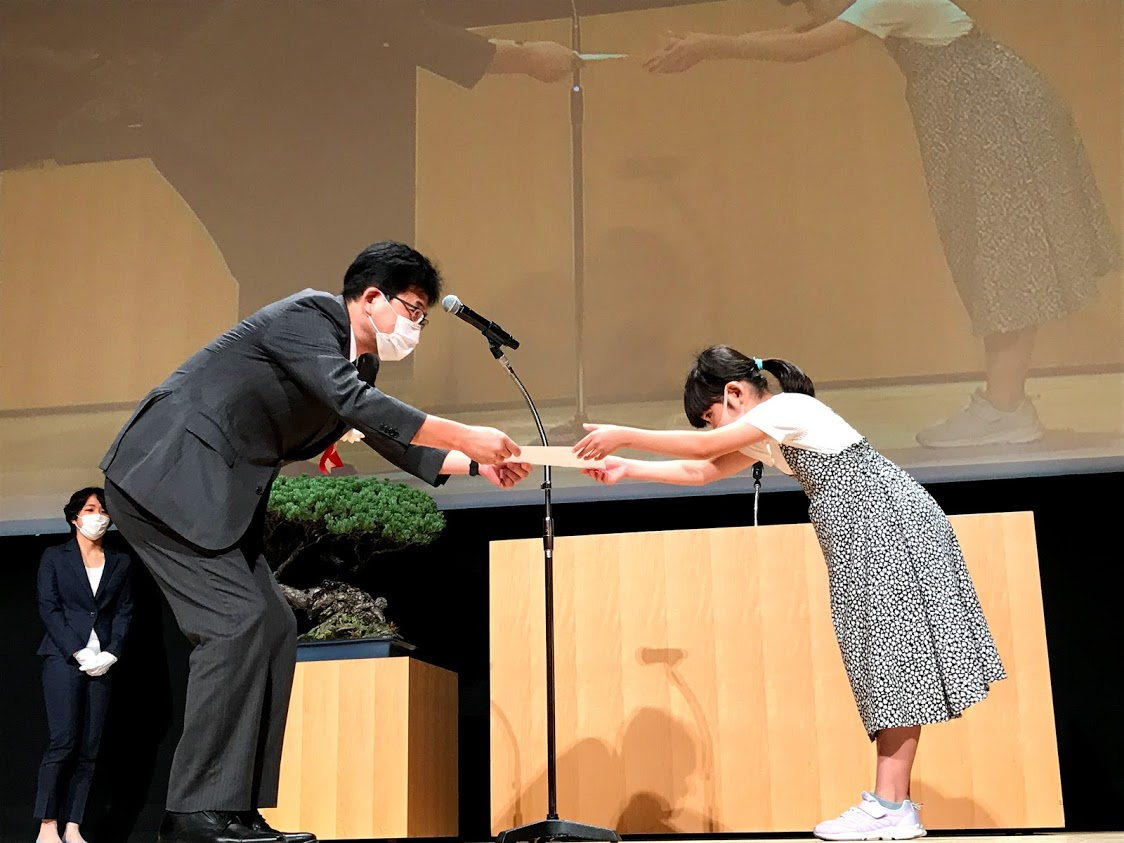 Shimizu Port Passengers Committee  Award_3rd grader