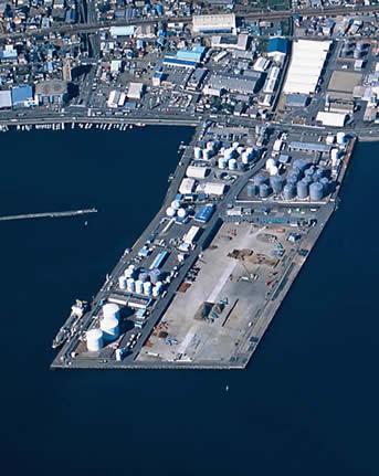 Sodeshi No.2 wharf