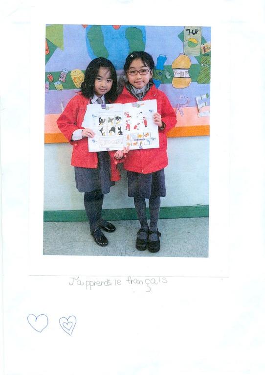 3e prix : Alison Wong (8 ans, 3E) de Po Leung Kuk Camões Tan Siu Lin Primary School