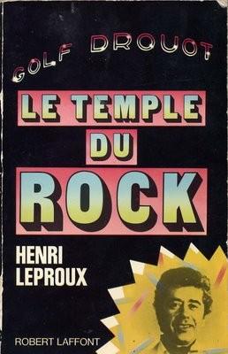 LE LIVRE LE TEMPLE DU ROCK