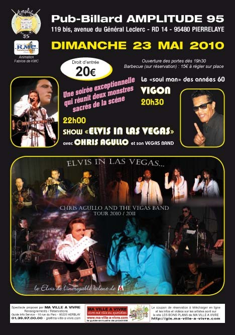 CHRIS AGULLO LAS VEGAS BAND & VIGON