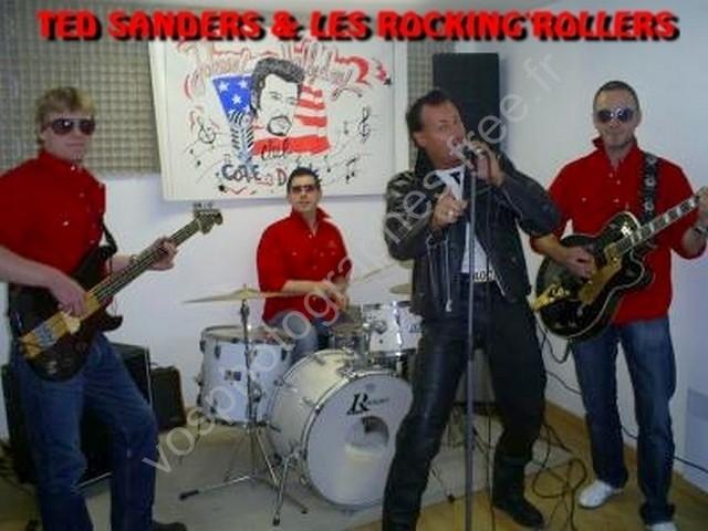 LES ROCKING'ROLLER'S &TED SANDERS
