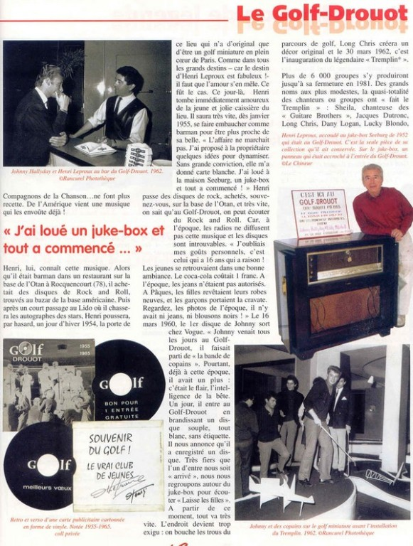 ARTICLE GOLF DROUOT