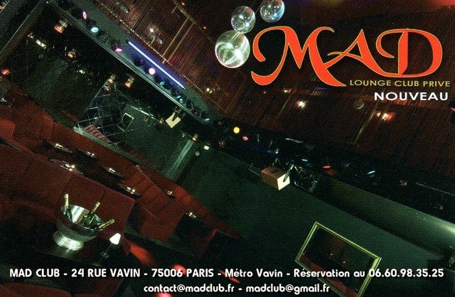 INAUGURATION MAD CLUB