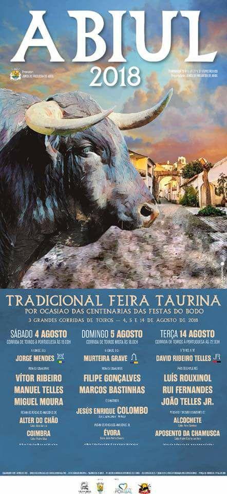 Tradicional Feira Taurina Corrida 14 Agosto - Abiul
