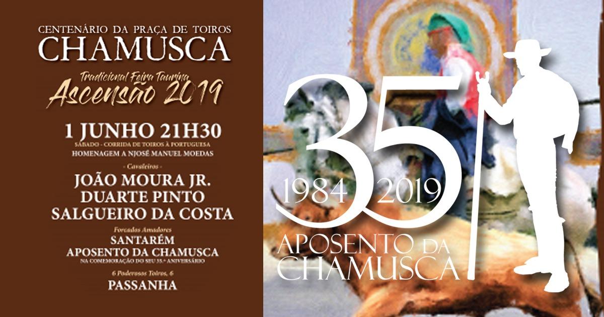Centenário da Praça de Toiros Corrida de Toiros em Homenagem a José Manuel Moedas, Praça de Toiros Chamusca 1 Junho - Chamusca