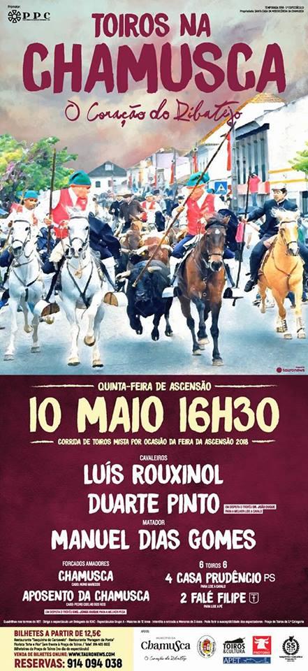 Corrida Feira da Ascensão 10 de Maio - Chamusca