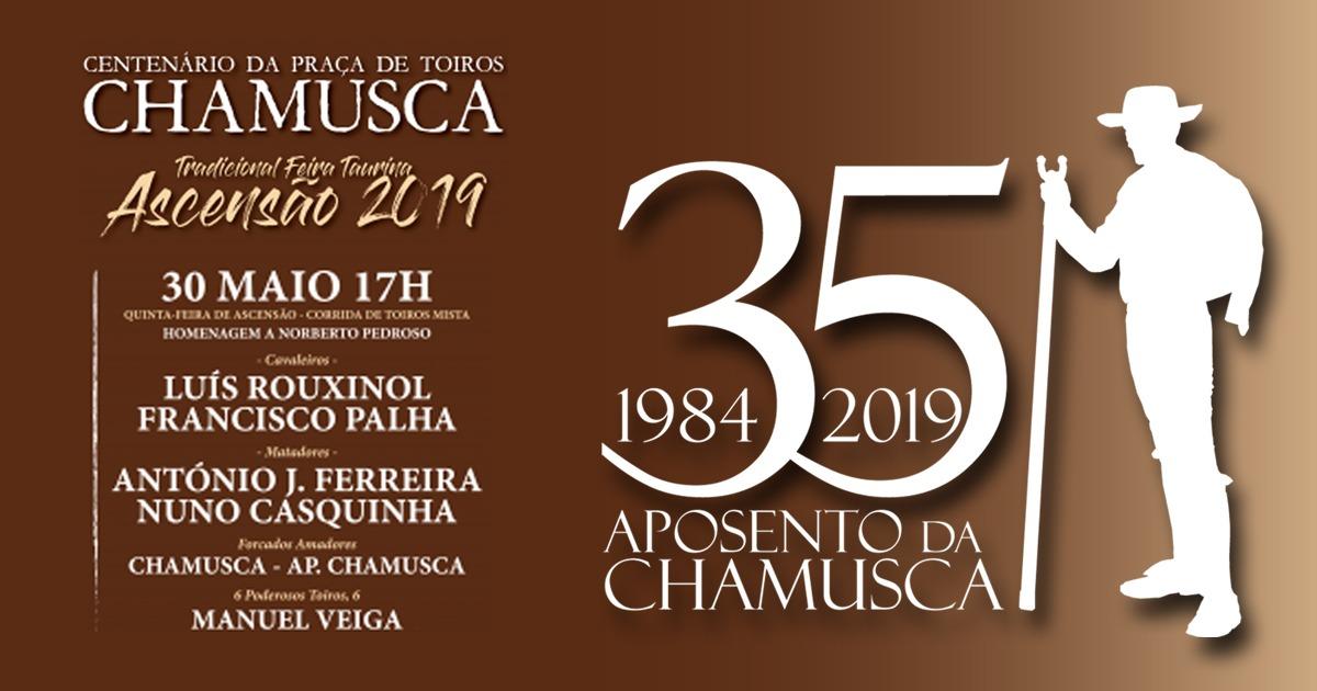 Centenário da Praça de Toiros Corrida de Toiros em Homenagem a Norberto Pedroso, Praça de Toiros Chamusca 30 Maio - Chamusca