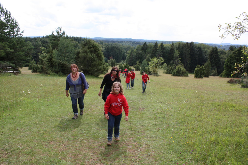 Wanderung auf den Sternberg.