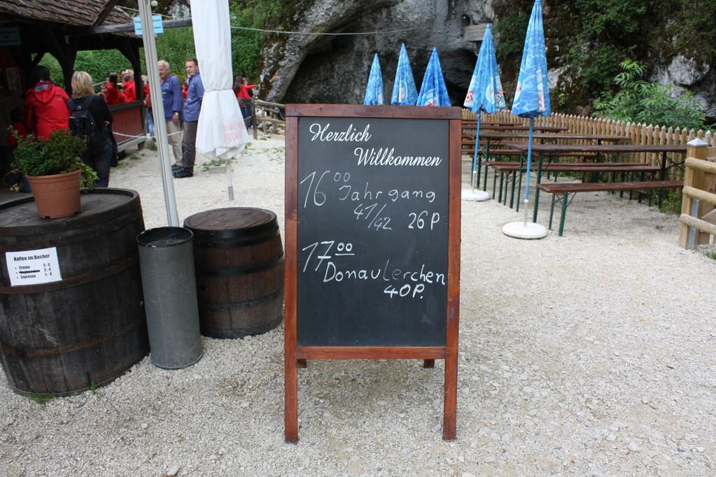 Die Wimsener Höhle.