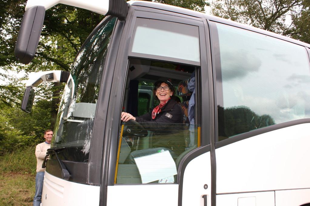 Wo ist denn der Busfahrer geblieben?