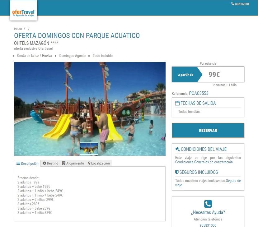 Ofertravel, hotel a precio de chollo en Andalucía