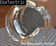通常のガラスはDielectricを使います