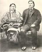 George Bent und seine Frau Owl Woman