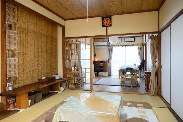 熊本県合志市おれんじはーと 風景