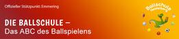 Logo und Link: Ballschule Heidelberg, Stützpunkt Emmering