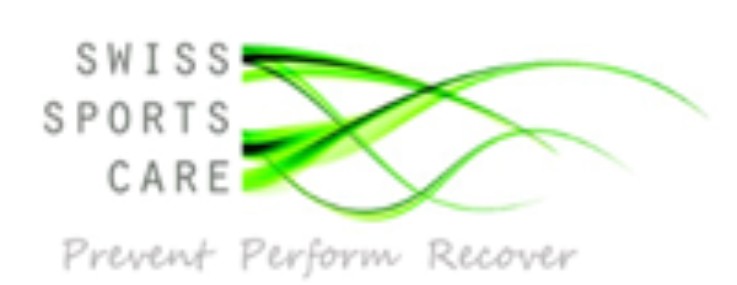 Logo und Link: Swiss Sportscare / Dr. Markus Laupheimer