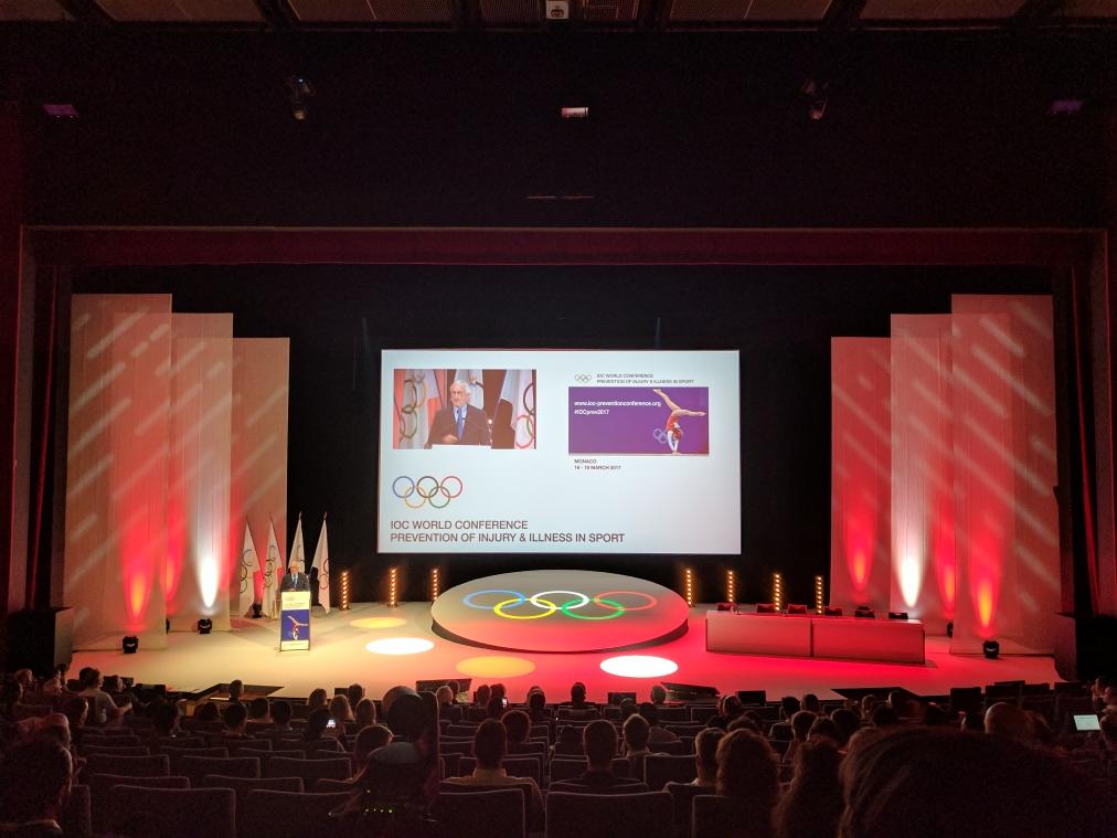 feierlicher Abschluss einer sehr gelungenen Veranstaltung im Zeichen der olympischen Ringe