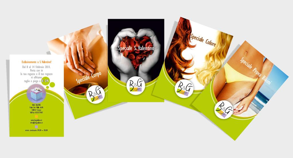 Salone B&G - Firenze - Cartoline Promo