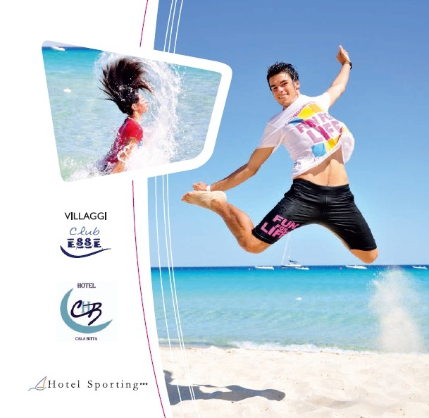 Club Esse -Villaggi turistici - copertina brochure