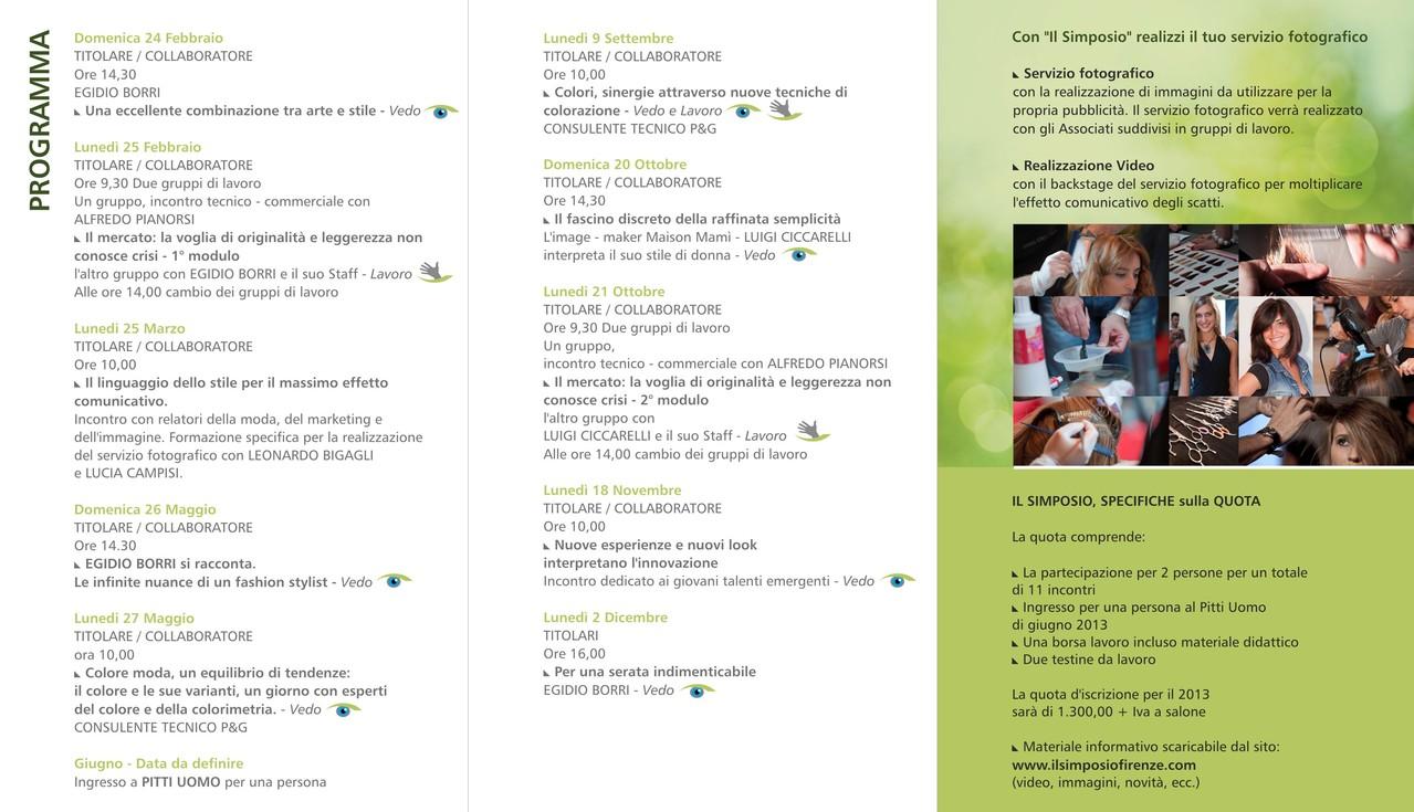 Il Simposio Percorsi formativi - Firenze - Brochure 2013 interno