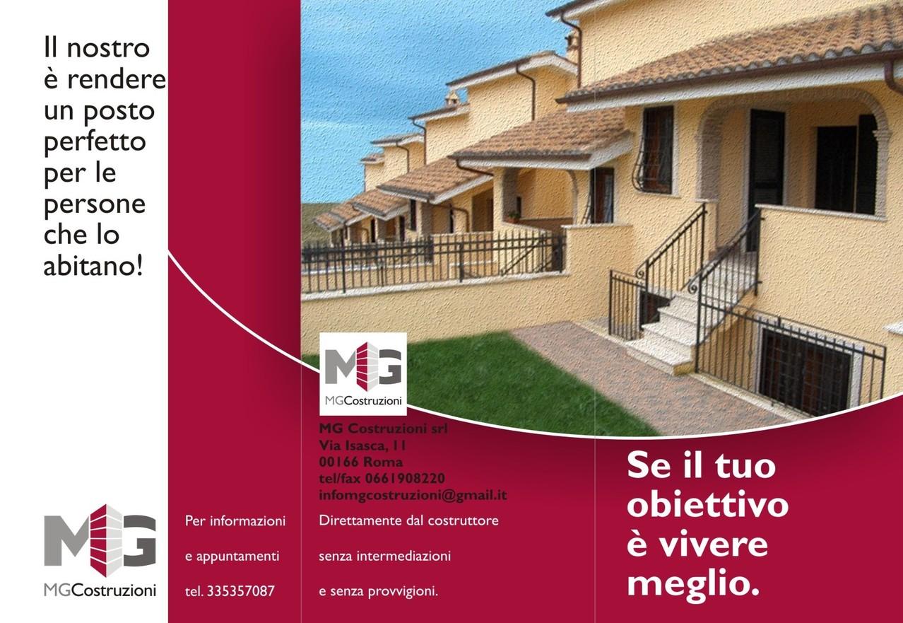 MG Costruzioni - Brochure (fronte)