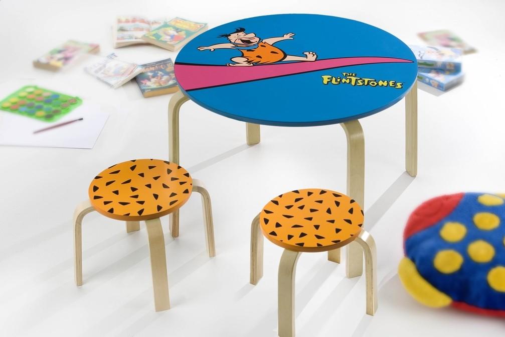 Licensing Flintstones - Set tavolino con sgabelli