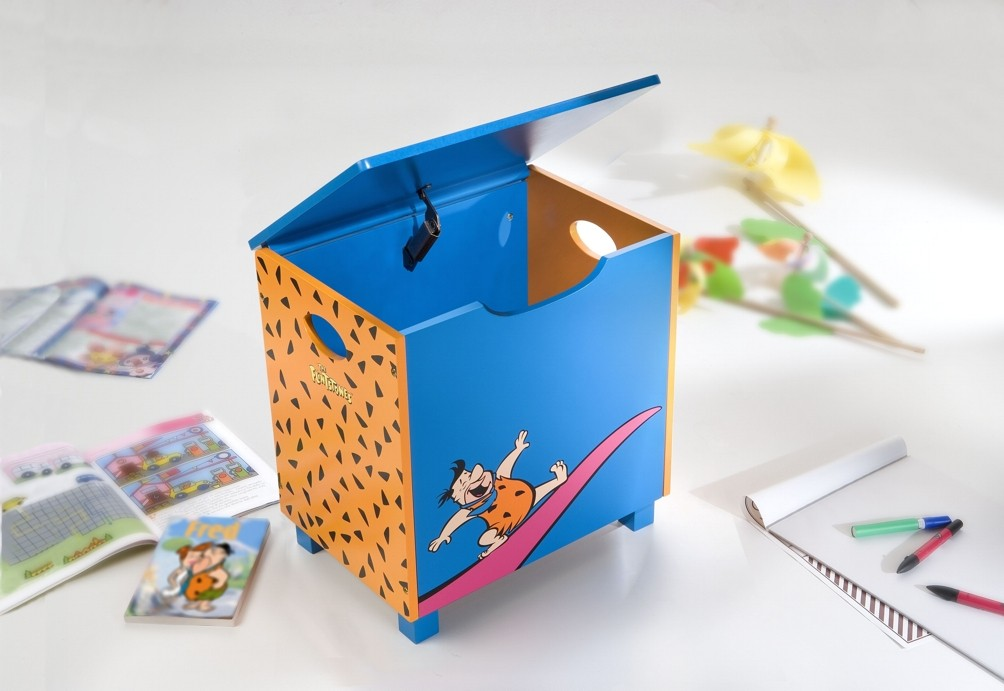Licensing Flintstones - Bauletto portagiochi