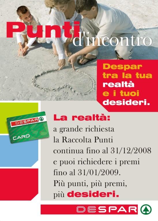 Despar 2007- 2008 - locandina proroga