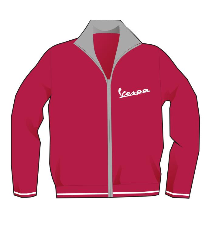 Studi per personalizzazione abbigliamento con logo Vespa