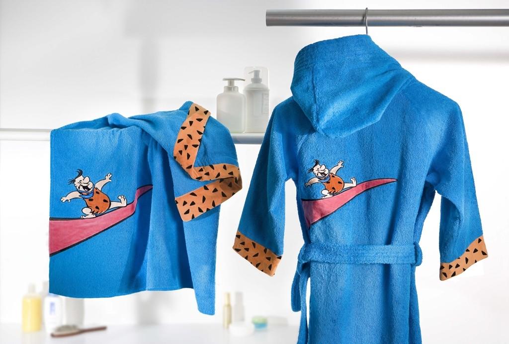 Licensing Flintstones - Accappatoio e asciugamano bimbo