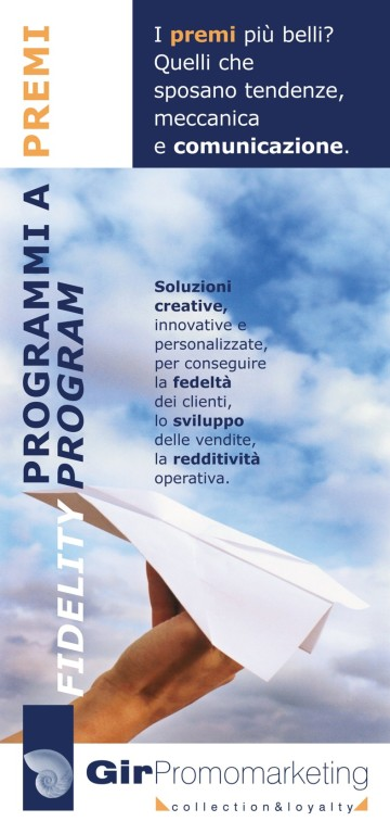 Gir Promomarketing - Banner Roll-up per stand espositivo
