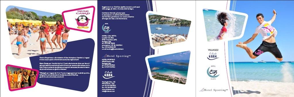 Club Esse - brochure tre ante - fronte