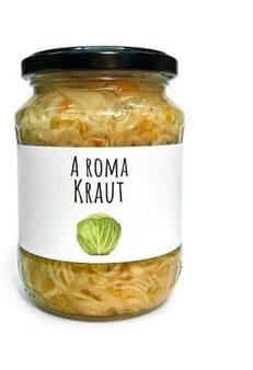 A Roma Kraut - Krautsalat, eingelegt in Essig, ohne Konservierungsmittel