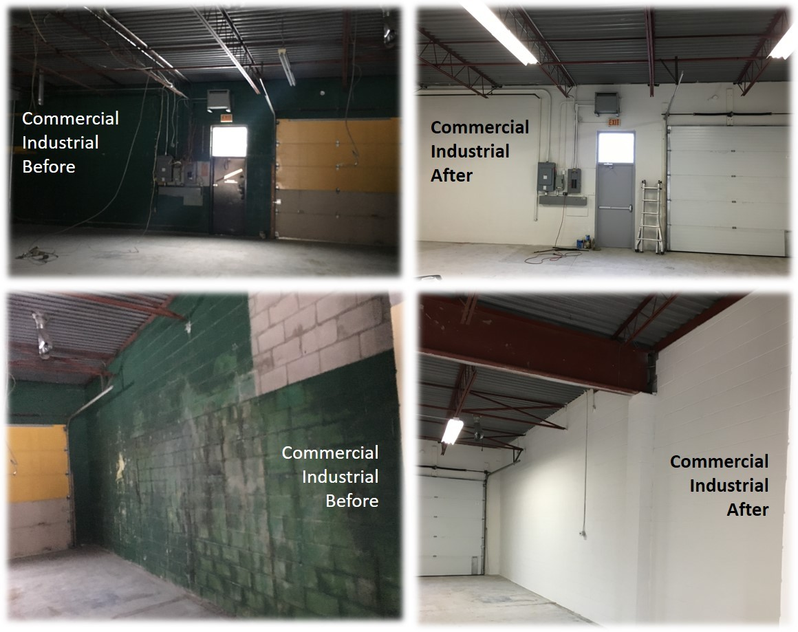 Commercial, Industrial Repair, Paint and Repaint, Spray Painting