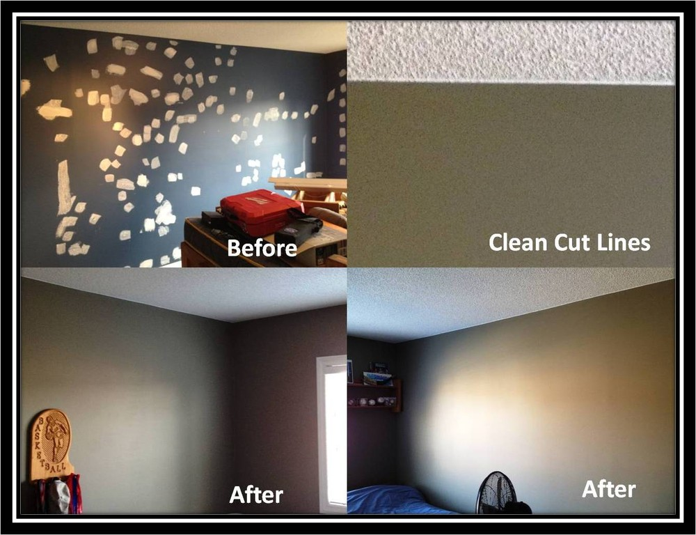 Bedroom Renovation - Repair and Paint