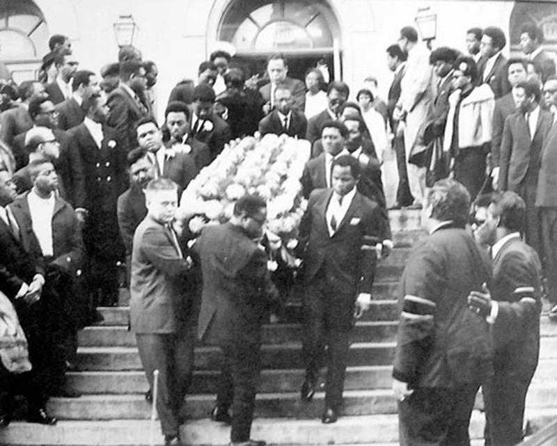 the Funky Soul story - Les funérailles d'Otis Redding