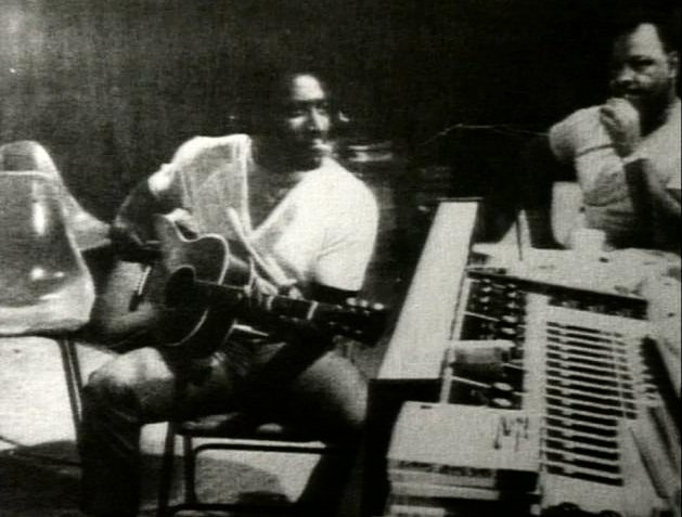 the Funky Soul story - Otis Redding at work in the Stax studio