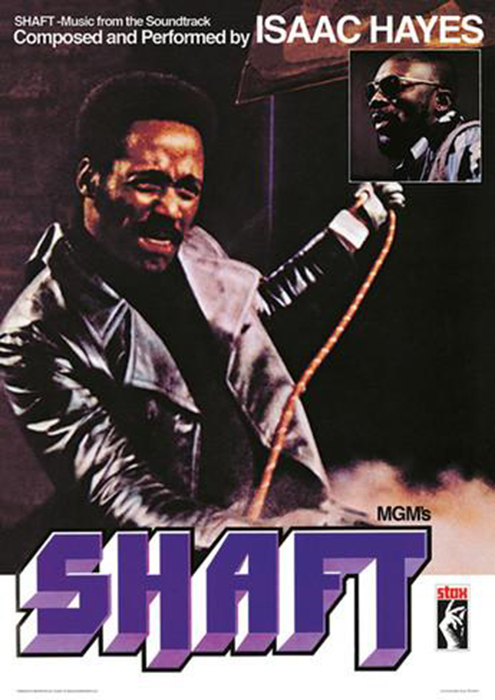 the Funky Soul story - affiche film Shaft (1971)