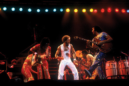 the Funky Soul story - Earth, Wind And Fire live 01