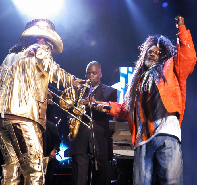 the Funky Soul story - George Clinton, Bootsy Collins & Maceo Parker