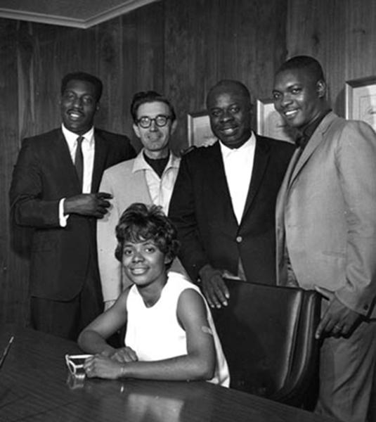 """the Funky Soul story - Otis et Carla après l'enregistrement de la chanson """"Tramp"""""""