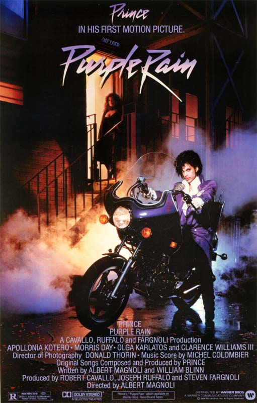 the Funky Soul story - Affiche du film Purple Rain (1984)
