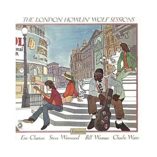 LP - The London Howlin' Wolf Sessions / 1970