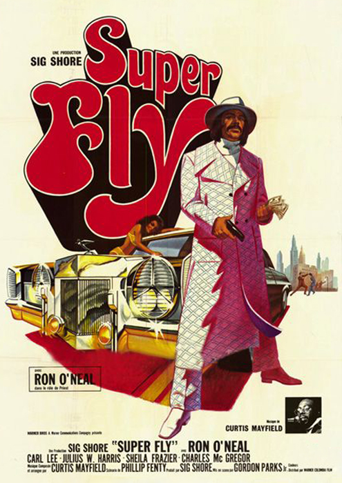 the Funky Soul story - affiche du film Super Fly