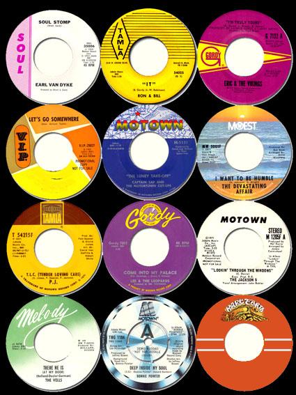 the Funky Soul story - logo Motown et les autres labels