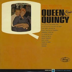 the Funky Soul story - Dinah Washington - LP Queen & Quincy (1955)