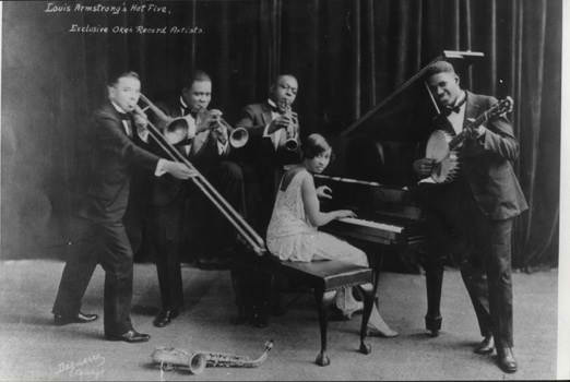 the Funky Soul story - Louis Armstrong & This Hot Five (Lil Hardin, Johnny St. Cyr, Johnny Dodds, Kid Ory - 1925-1928)