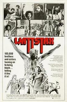 the Funky Soul story - poster du festival WATTSTAX - 1973