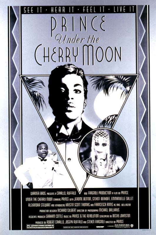 the Funky Soul story - Affiche du film Under The cherry Moon (1986)
